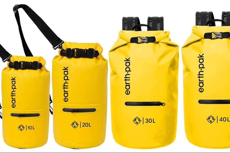Tipos de bolsas estancas impermeables para deportes de verano